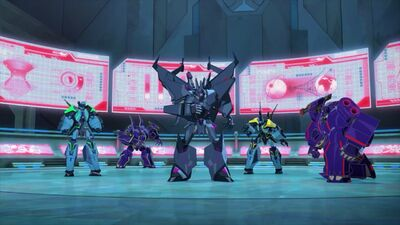 Decepticon High Council ready for combine