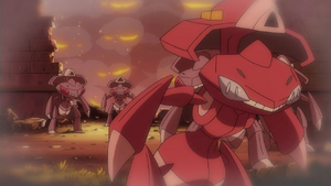 Genesect Army escapes