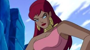 Giganta - All Scenes Powers Justice League Unlimited