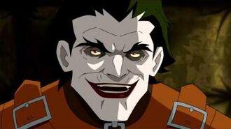 Batman Under the Red Hood- Batman and Nightwing Interrogate Joker