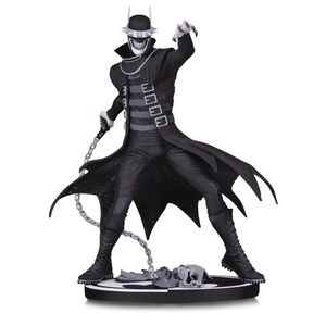 Batman who Laughs black and white statue