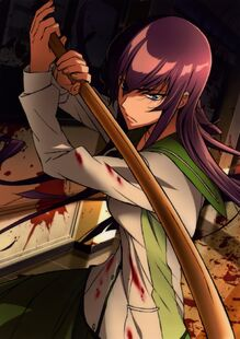 Busujima saeko highschool of the dead sample-269259a60d1be6d07b252f1e9b83d859