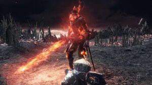 Dark Souls 3 Soul of Cinder Final Boss Fight and Secret Ending (4K 60fps)