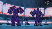 Decepticon High Council without their disguises