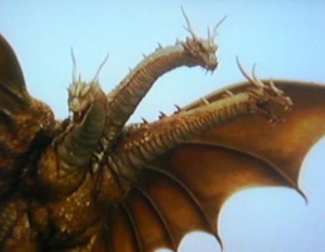King Ghidorah (Rebirth of Mothra III) 02
