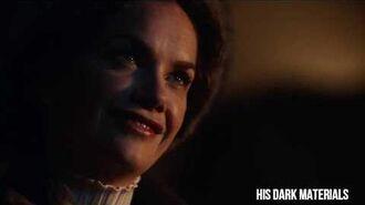 Mrs Coulter meets Iofur Raknison His Dark Materials 01x04