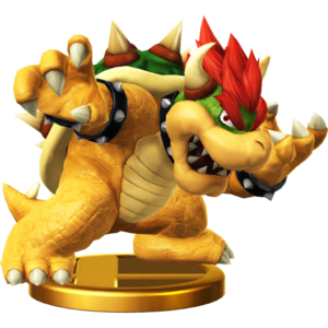 Bowser Trophy In Smash Bros For Wii U And 3ds