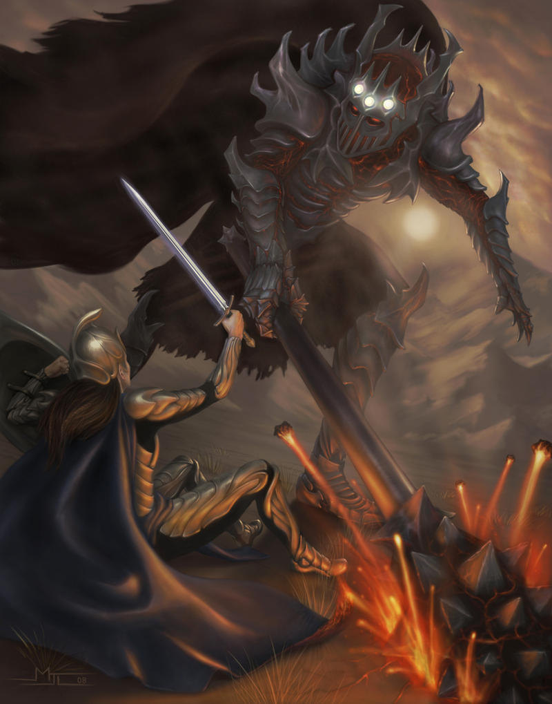 Fingolfin and Morgoth