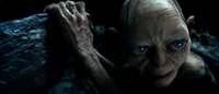 Gollum in the cave