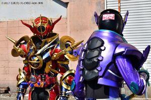 Kamen Rider Rogue v. Evol