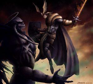 Ragnarok Crusader VS Dark Lord
