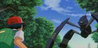 The Marauder confronts Ash