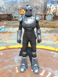The Mechanist's Armor
