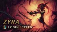 Zyra, Rise of the Thorns Login Screen - League of Legends