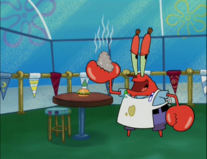 Mr. krabs gray sarbage