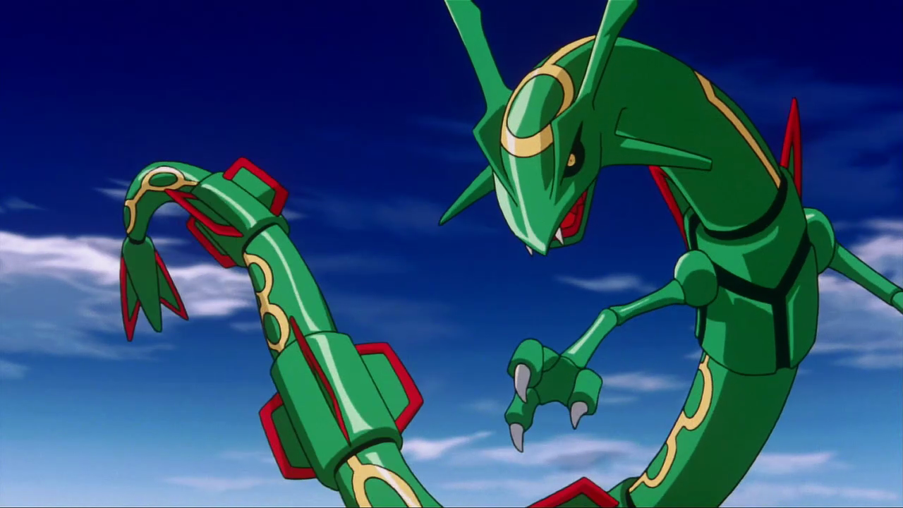 Pokemon Shiny Rayquaza Wallpaper