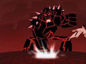 Samurai Jack Episode 10 Jack and the Lava Monster