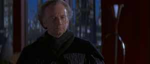 Senator Palpatine saddened