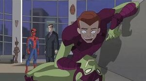 Spectacular Spider-Man (2008) Green Goblin is Harry Osborn part 2 2