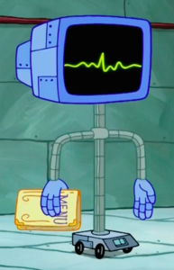 SpongeBob SquarePants Karen the Computer