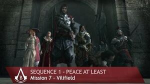 Assassin's Creed Brotherhood - Sequence 1 - Mission 7 - Vilifield (100% Sync)