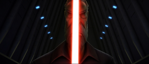 Count Dooku face-ignite