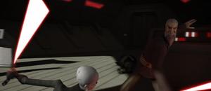 Count Dooku groan