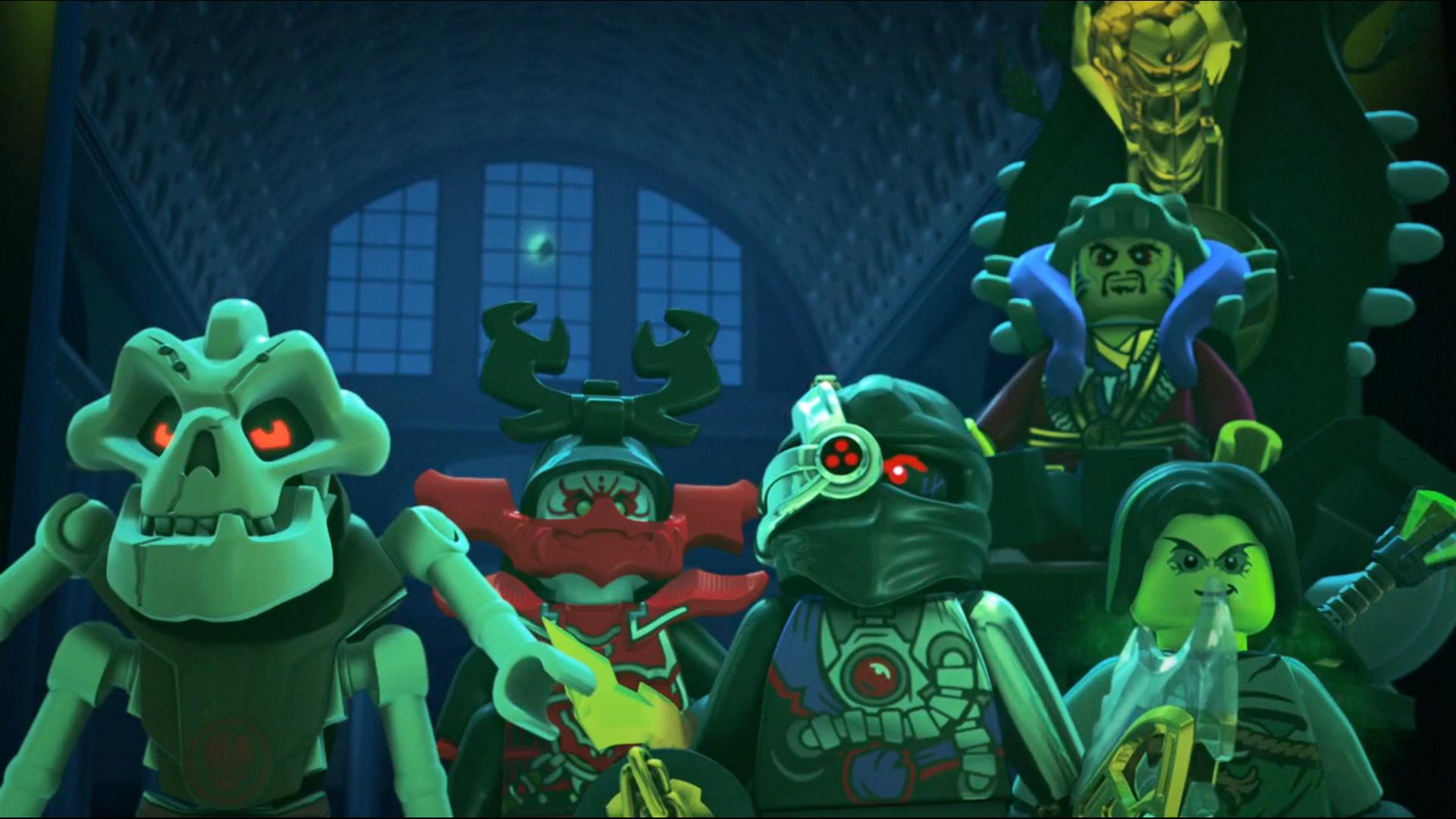 Картинки все злодеи лего ниндзяго
