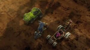 Hatch, Sever and Krocomodo's Vehicles