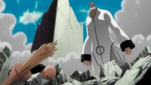 Ikkaku defeated by Poww