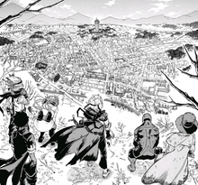 League of Villains over Deika City