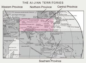 Map of Ai-Jinn Territories (Corporation, The Dragon Awoken)