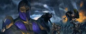Rain's command of terror