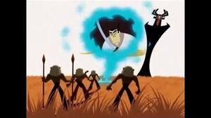 Samurai Jack S2Ep9-Aku hires the Imakandi
