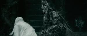 Saruman vs Nazgul