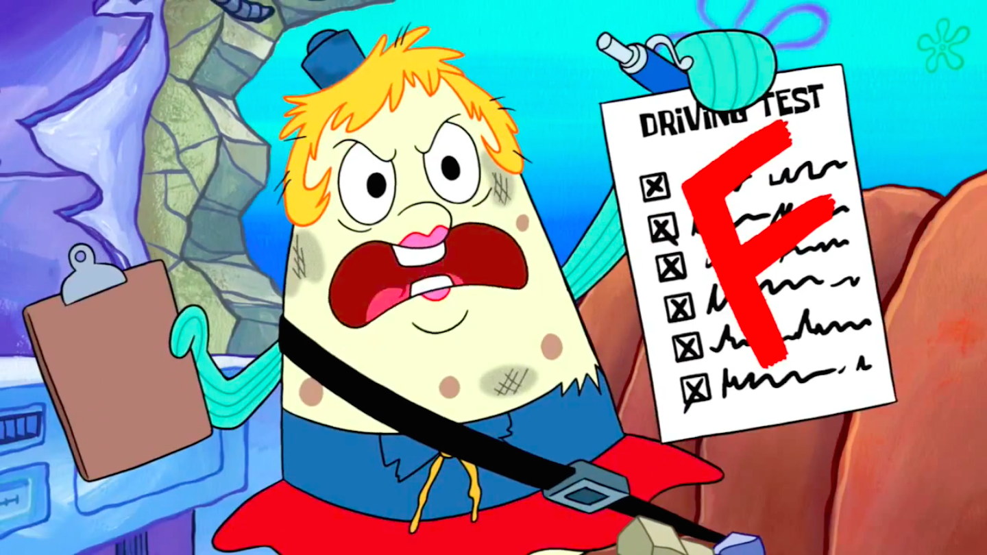 Uncategorized Mrs Puff image spongebob squarepants mrs puff with failed exam png png
