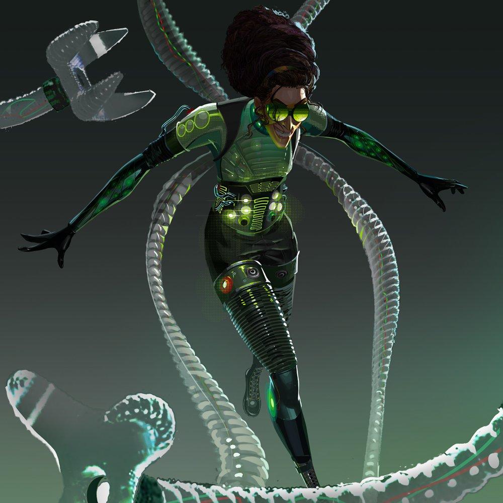Doctor Octopus Spider Man Into The Spider Verse Villains Wiki