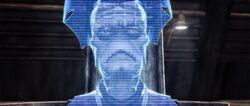 Nute Gunray hologram
