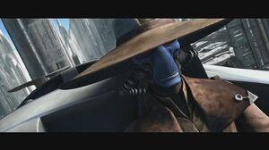 Star Wars The Clone Wars - Cad Bane take senators as hostages 1080p