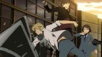 Young Izaya and Shizuo