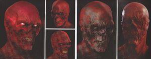 Avengers Infinity War Red Skull concept art 17
