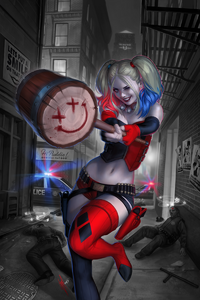 Harley Quinn Vol 3 Issue 1 Variant Textless
