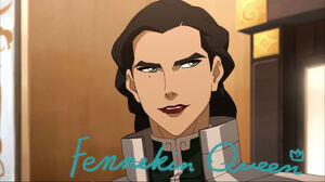Kuvira with makeup by fennekinqueen-d89m65d