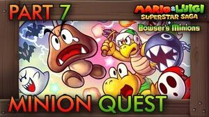Mario & Luigi Superstar Saga Bowser's Minions - Minion Quest Part 7 (Bowser's Castle) FINAL BOSS