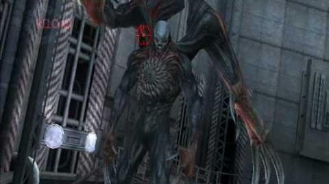 Resident Evil Darkside Chronicles William Birkin Boss fight 2