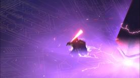 Vader falling