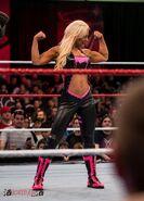 Dana Brooke Flexing