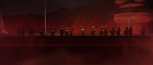 Darth Maul armed forces