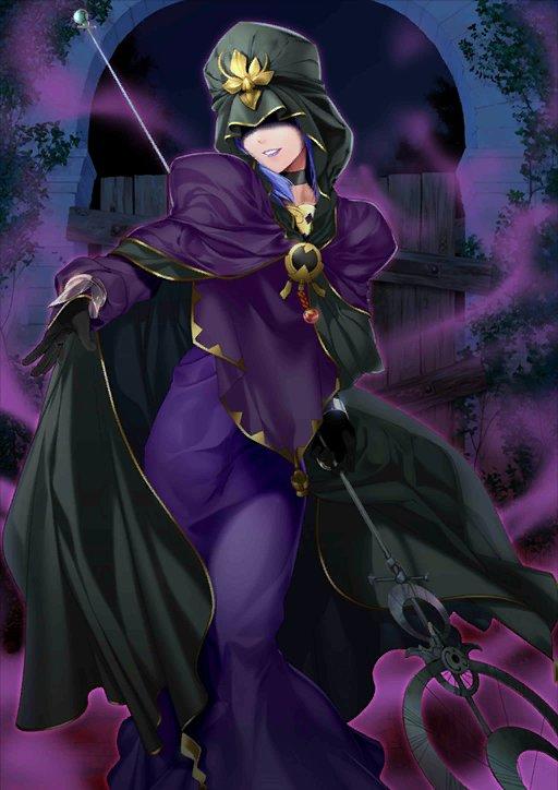 Caster Fate Stay Night Villains Wiki Fandom