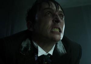 Penguin taunts Theo Galavan